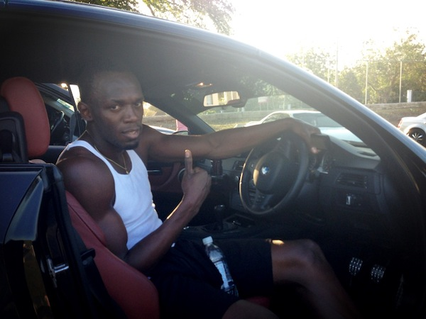 Usain Bolt in Jamaica
