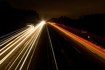 Highway Night Photograph Lights Night Lighting. Photo: Pixabay