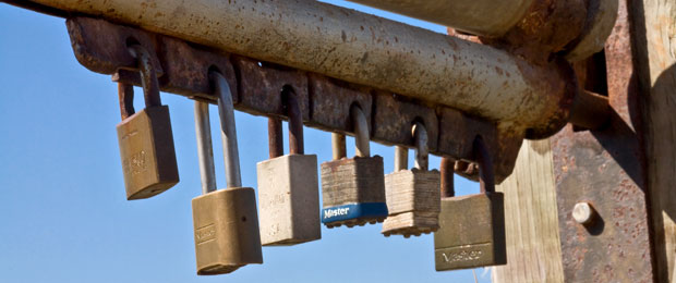 Locks image: CC BY 2.0 Mike Baird https://www.flickr.com/photos/mikebaird/2354116406/  via Flickr