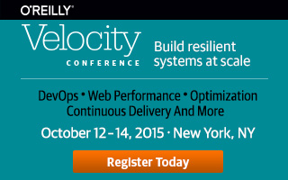 O'Reilly Velocity Conference in New York 2015